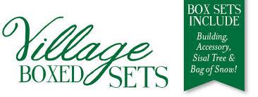 boxed sets villages department 56