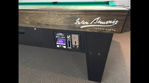 Smart Pool Table Bill Acceptor For Diamond Smart Tables Youtube