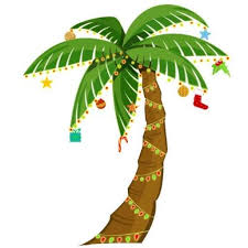 clip art christmas palm tree clipart palm tree with christmas