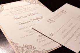 elegant and timeless letterpress wedding invitation chic ink