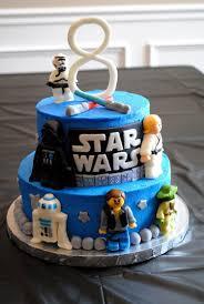starwars cakes 8th birthday wars cake
