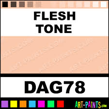 flesh tone acrylic enamel paints dag78 flesh tone paint flesh