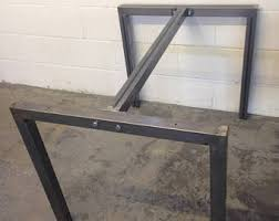 U Shaped Table Legs L Shaped Steel Table Legs For Dining Coffee Table Or Office