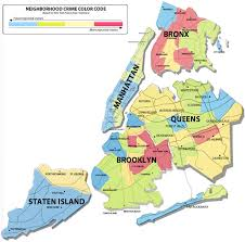 map for new york map of new york area major tourist attractions maps