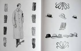 1920s fashion illustration book vintage gal
