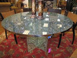 Glass Dining Room Table Tops Crackle Glass Table Top Google Search Dining Pinterest