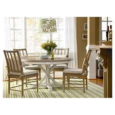 Round Dinette Table Grafton Extending Round Dining Table U0026 Reviews Birch Lane