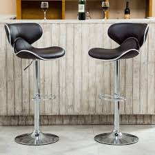 adjustable outdoor bar stools top 97 dandy modern swivel bar stools leather counter stool