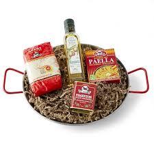Food Gift Sets Spanish Paella Gift Set In Paella Pan Williams Sonoma