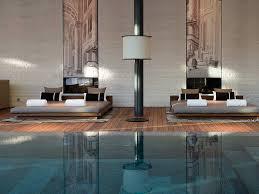 the chedi andermatt suisse piscine intérieure zen design spa