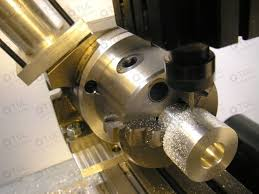 making a rotary table 80mm 3 inch chuck with backplate chuck and rotary table used in