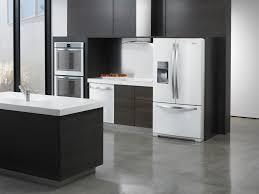 impressive modern kitchen with black appliances kitchen color