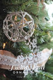 twine ornaments grows