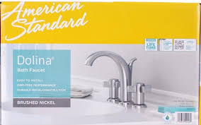 Giagni Andante Faucet by American Standard Dolina Bath Faucet Brushed Nickel 9256 801 075