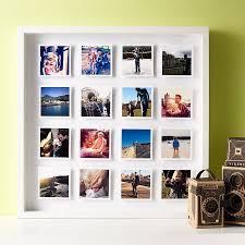 personalised photos 3d box framed print by instajunction