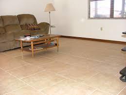 living room white tile flooring gray rug white sofa black tv