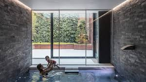 Glass Box House Glass Box Defines Extension With Basement Pool To Victorian Home