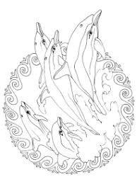 coloriage mandala de la mer sur hugolescargot com