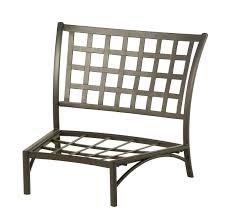 Hanamint Patio Furniture Reviews by Hanamint Stratford Crescent Middle Chair All Things Barbecue