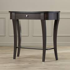 decorating 36 inch high console table and console desk furniture