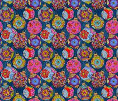 bohemian christmas fabric cassiopee spoonflower
