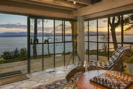 arne bystrom u0027s whidbey island cliff house available for 2 95m