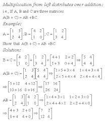 multiplication distributes over addition high mathematics