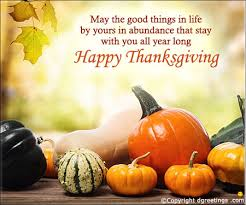 may the things in happy thanksgiving card