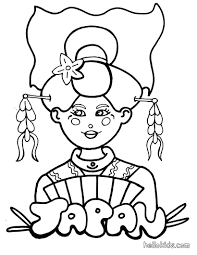 coloring for kids japanese coloring pages new in interior gallery