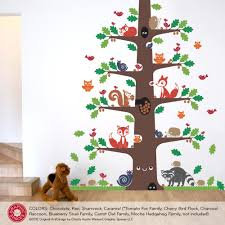 Owl Nursery Wall Decals by Mighty Oak Happy Tree Wall Decal Graphic Spaces