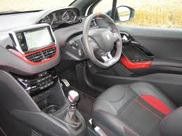 peugeot 208 gti inside peugeot 208 gti 1 6 thp 200 road test shows new hatch is best yet