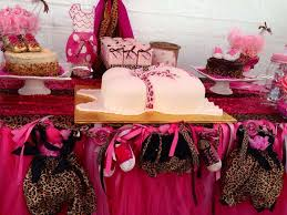 cheetah baby shower pink cheetah baby shower party ideas photo 4 of 16 catch my party