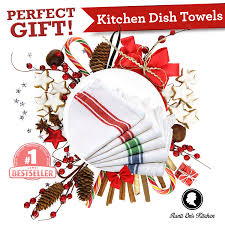 amazon com kitchen dish towels with vintage design for kitchen