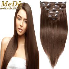 hair clip rambut remy hair clip in extensions clip in hair
