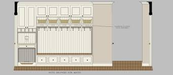 mud room dimensions ideal mudroom bench height trammel414