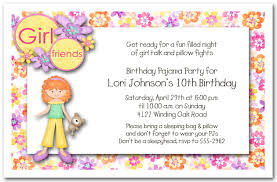 birthday slumber invitations cimvitation