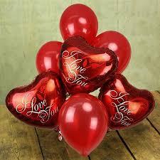 heart balloon bouquet i you balloon bouquet