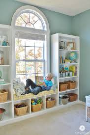 Windowseat Inspiration Worthy Built In Bookcases With Window Seat M25 On Small Home Decor