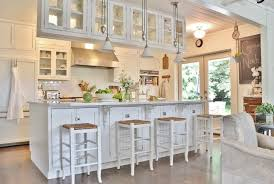 rustic kitchen cabinets with glass doors my houzz highlighting farmhouse roots in a seattle suburb