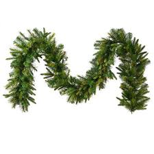 vickerman a118316 pine garland unlit