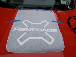 jeep hood decals installed custom hood decal tow hooks lots of pics jeep