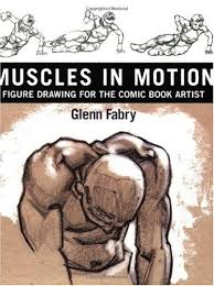 book review muscles in motion figure drawing for the comic book