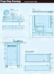 custom plans custom router table plans woodarchivist