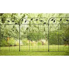amazon com amagabeli decorative garden fence coated metal