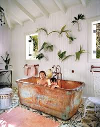 wall plant holders tile copper bath tub wall planters need them all from the
