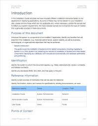 installation plan template apple iwork pages
