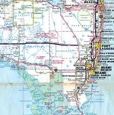 South Florida Map With Cities by Florida Aaroads Interstate 75