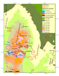 Guadalupe Mexico Map by A Geologic And Geomorphologic Analysis Of The Zacatecas And