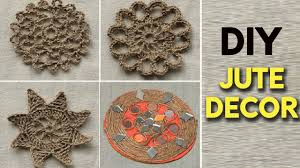 how to make a diy jute decor at home easy crafts youtube