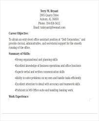Entry Level Business Administration Resume 25 Basic Administration Resumes Free U0026 Premium Templates